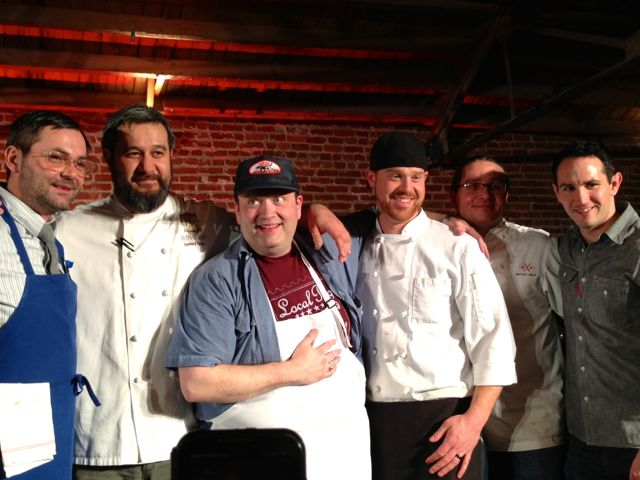 Food Fight 4 Competitors: Tony Glamcevski, Howard Hanna, Jerry Fisher, Alex Pope, Michael Smith and Ryan Sciara